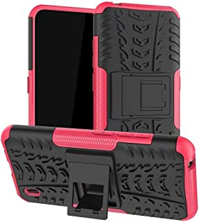 TenDll Case for Honor 8S 2020, Shockproof Tough Heavy Duty Armour Back Case Cover Pouch With Stand Double Protective Cover...