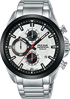 PULSAR Men's Analogue Quartz Watch with Stainless Steel Strap PM3183X1