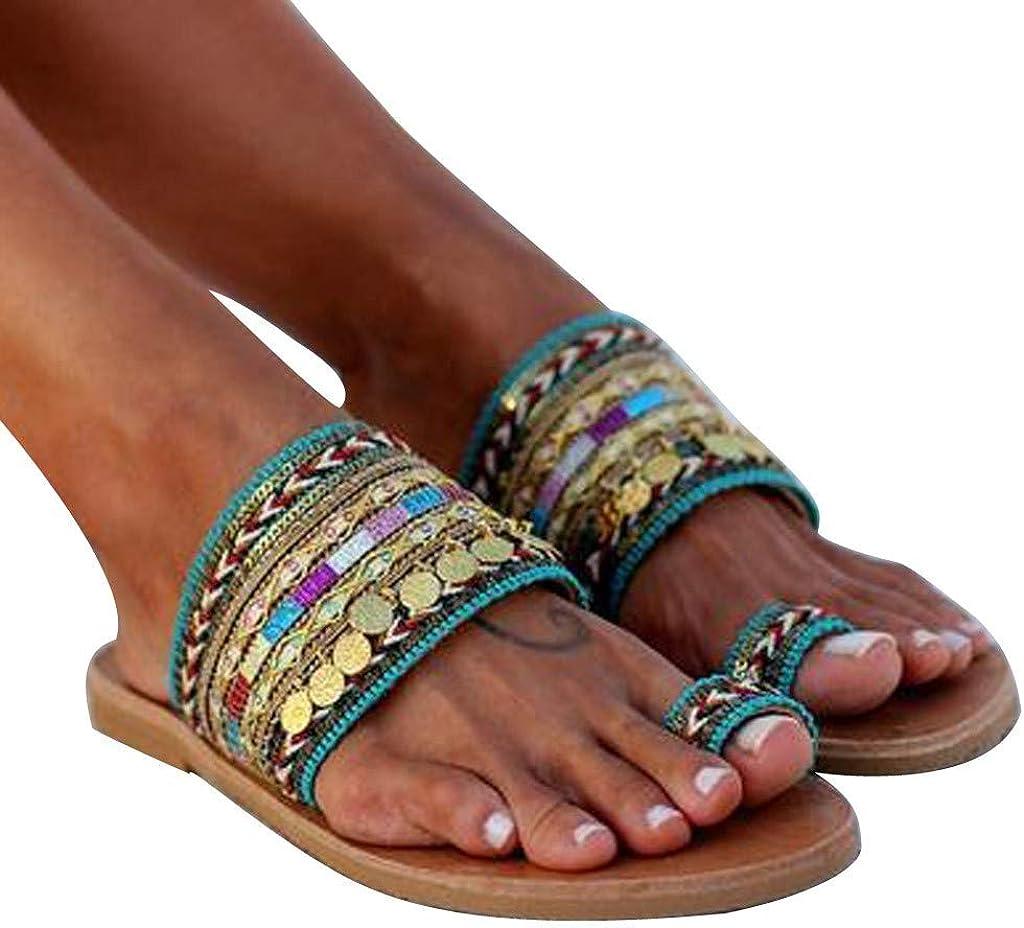 Goddessvan Sandals for Women Casual Summer Award C Max 81% OFF Flats Open Toe Cute