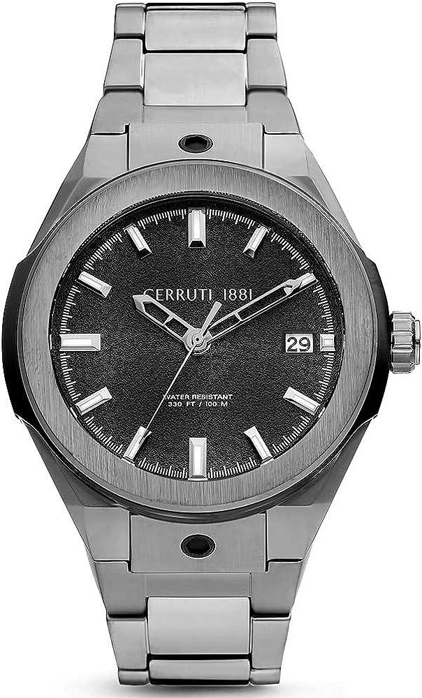 Cerruti,orologio da uomo,in acciaio inossidabile CRA29009