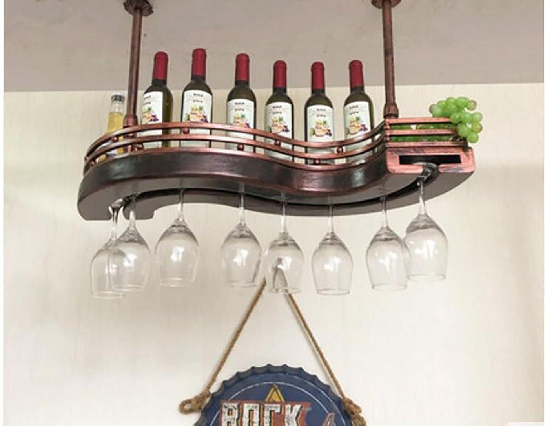 初期食品勢い壁ワインラック ワイングラスラック、棚用ワイングラスホルダー、ワイングラスラック、ワイングラスラック、シャンパングラスラック、ガラス器具ラック 簡単な設置 (サイズ さいず : L60*W32cm)