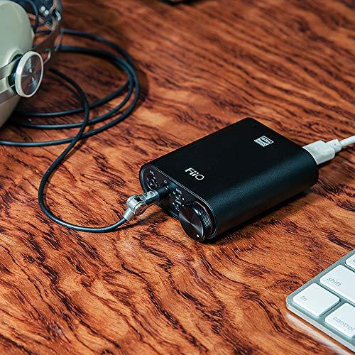FiiOK3DSDUSB-CDACおよびヘッドフォンアンプ