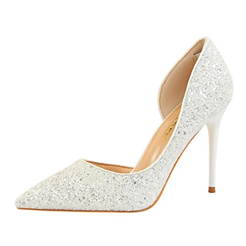 2a3e9faaed9466 Women s Heels OverDose Fashion Thin Heels Shoes Shallow Pointed Toe High  Heels Shoes