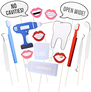 LUOEM Doctor Cosplay Photo Booth Props Photobooth Kits Dress Up Decoration Party Funny Accessories 16pcs