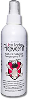 Sponsored Ad - Lice Ladies Prevent/Natural Daily Lice Preventative Spray/Non-Toxic homeopathic lice Repellent with Soothin...