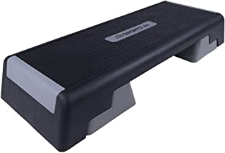 40x40cm LHY-Stepbenches H/öHenverstellbarer Aerobic Step-Plattform Anheben Block-Home Gym Fitness Workout Ausr/üStung Keine Feste Oberfl/äChe Schritt