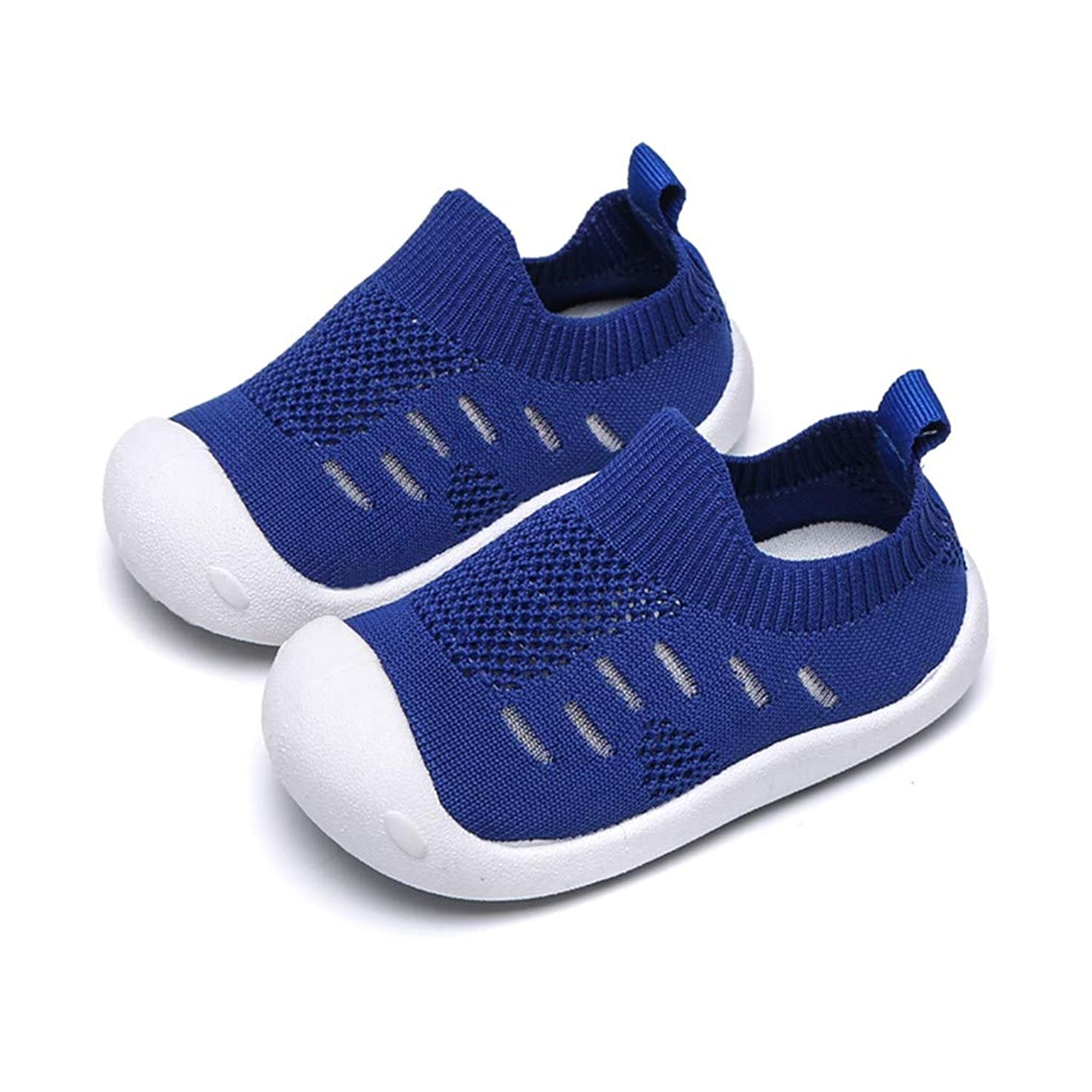 Haalife???Kid's Casual Knit Shoes Athletic Walking Shoes Lightweight Mesh-Comfortable Slip on Sneakers