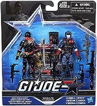 G.I. Joe, 50th Anniversary, Sinister Allies Action Figure Set (Iron Grenadier vs Cobra Viper Action), 3.75 Inches