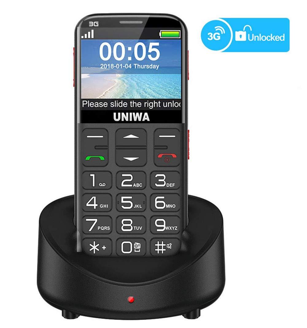 UNIWA Unlocked Embossed Keyboard Emergency