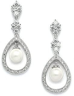 Best pearl rhinestone earrings Reviews