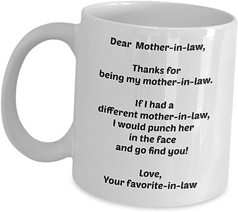 Mother In Law Mug Thank You Mug Funny Coffee Mug New - Etsy - Funny coffee  mugs, Coffee humor, Mugs