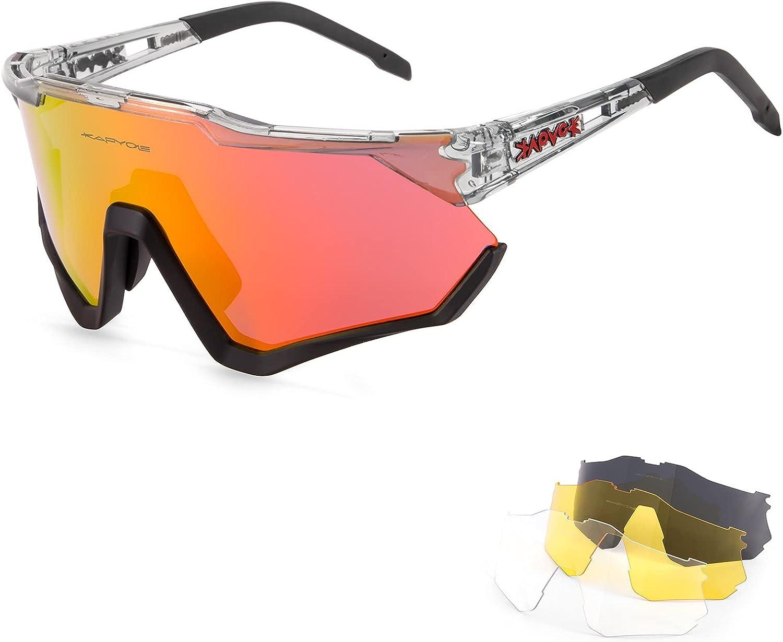New Orleans Mall KAPVOE Cycling Glasses MTB Polarized Sunglasses Outstanding Me Bike Mountain
