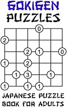 Gokigen Puzzles - Japanese Puzzle Book For Adults: 100 Fun And Brainy Logic Puzzle Games With Solutions: Mixed Grids - Easy