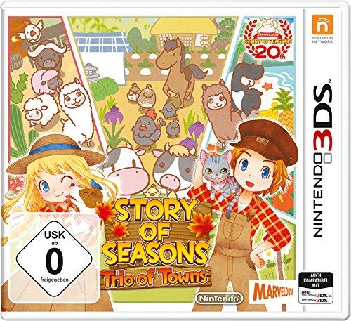 Oferta de Story of Seasons: Trio of Towns - Nintendo 3DS [Importación alemana]