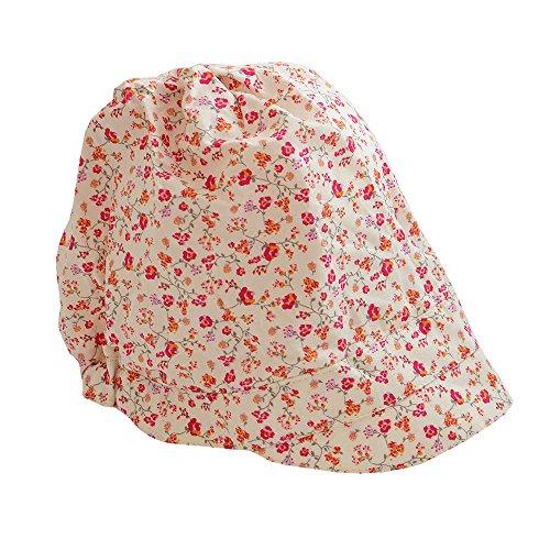PICKAPOOH Schirmmütze Luna Bio-Baumwolle, Blume Pink Gr. 54