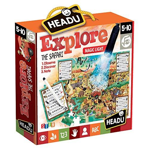 Headu- Explore The Safar Puzzle, Colore Vari, IT21420