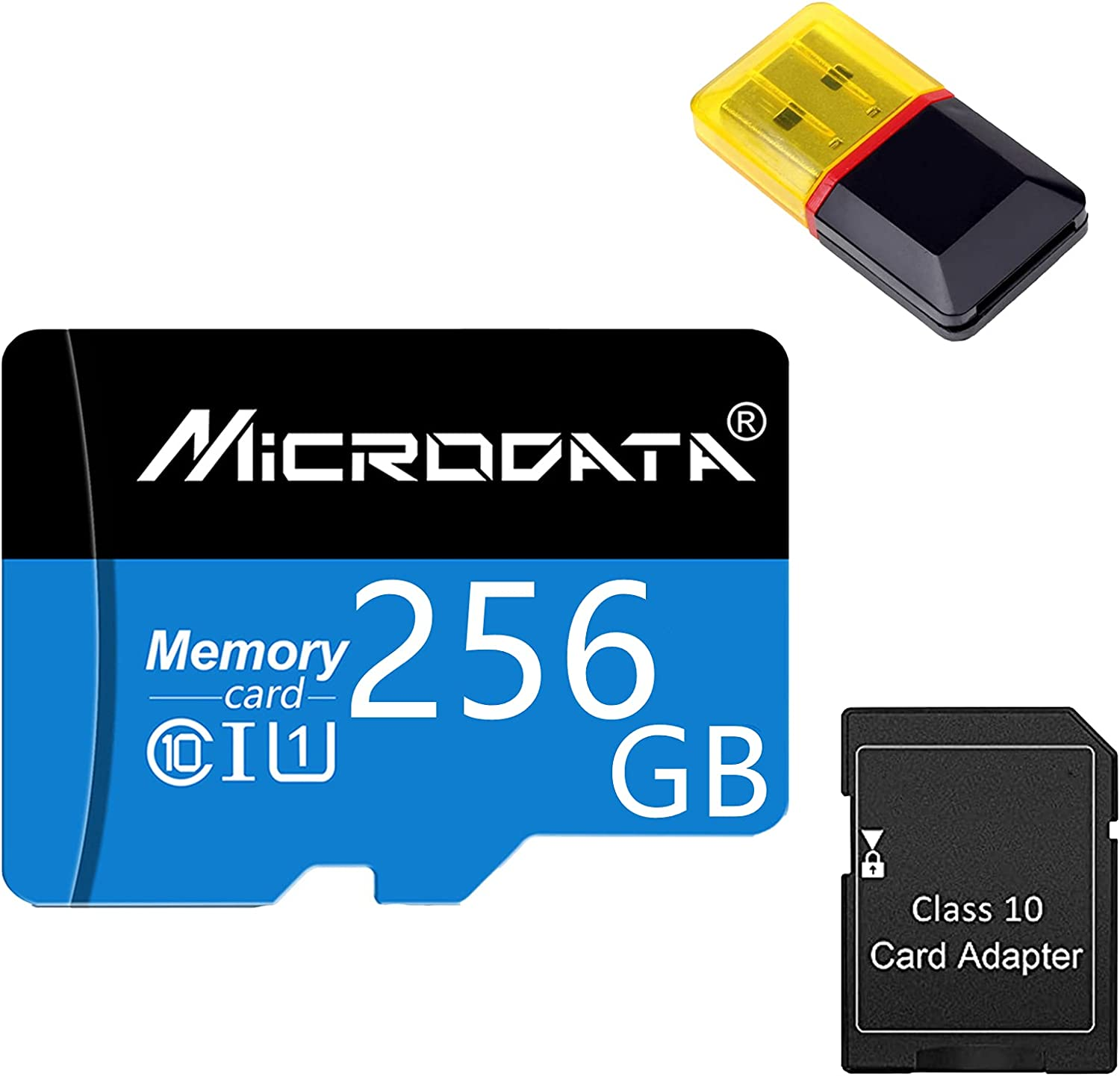 Gmjay Micro SD Card TF Memory Reader Class 10 with Adapter 35% Max 40% OFF OFF