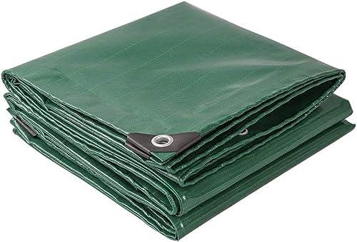 ATR Baches polyvalentes renforcées -0.42mm 520g   m \u0026 sup2; bache de Couverture Professionnelle (Couleur  Vert, Taille  4x8m)