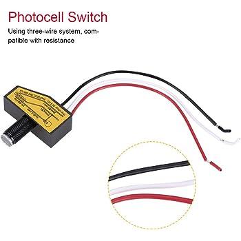 /Interruptor crepuscular exterior Empotrable Mini d/ämmme rungs Sensor IP54/ /LED Adecuado 1/W de 2000/W/