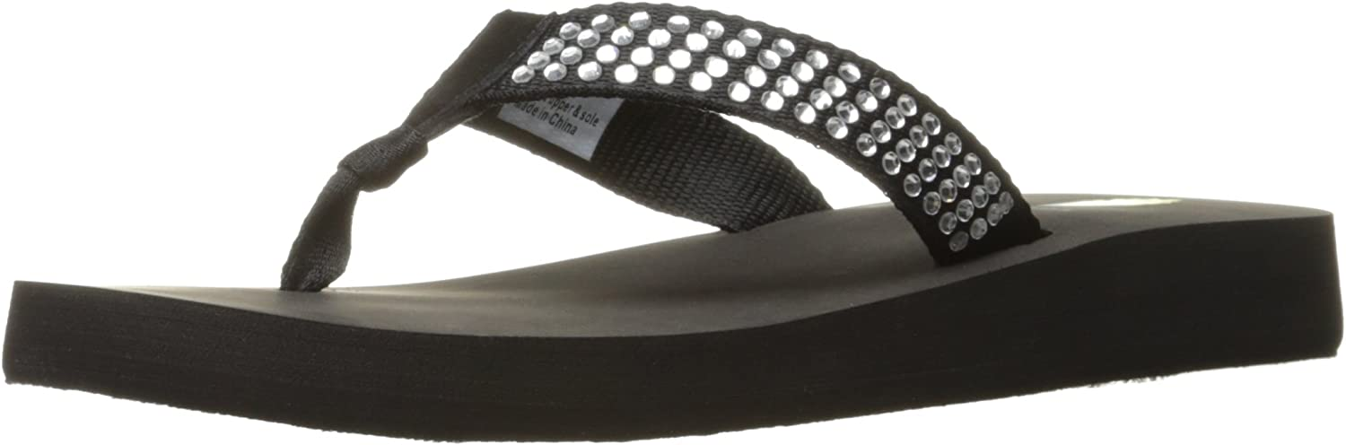 Volatile Womens Sweetie Wedge Sandal