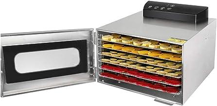 6 Trays Food Dehydrator, 110V 220V Stainless Steel Snacks Dehydration Dryer, for Fruits, Vegetables, Pasta, Etc