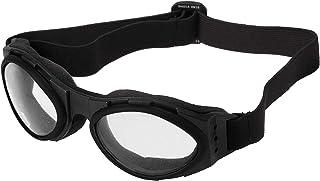 Bobster BA001C Bugeye Goggles, Black Frame/Clear Lens