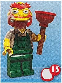 レゴ ミニフィギュア ザ・シンプソンズシリーズ 第2弾 LEGO minifigures the simpsons #71009 グラウンドキーパー・ウィリー ミニフィグ ブロック 積み木