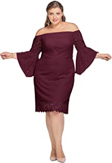 Lace Wedding Bridesmaid Dress Plus Size Short Formal Party Cocktail Dresses with Sleeve