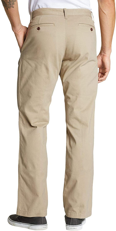 Eddie Bauer Legend Wash Chinohose Pantalon Homme Jaune (Sand 484)