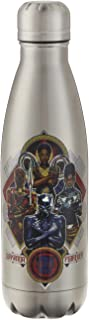 Marvel Swift Water Bottle- 17 oz. Stainless Water Bottle- Steel Double Wall Insulated and Vacuum Insulated, Cold for Up to 24 hours, BPA Free & Leak-Proof, Black Panther