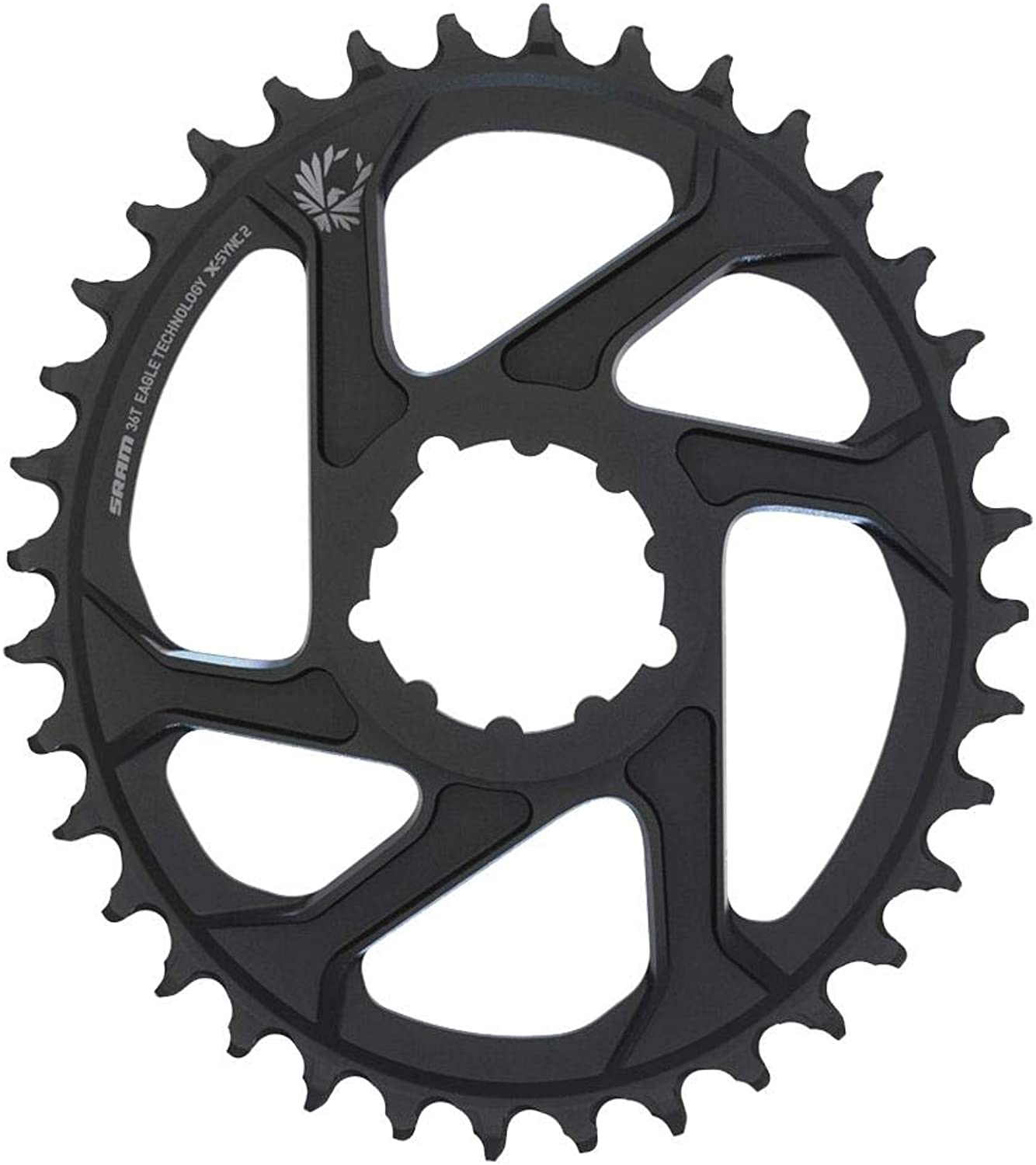 SRAM Eagle xSync 2 12S 36T Direct Mount Oval Chainring Black