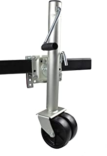 Best bolt on trailer jack with wheel Reviews