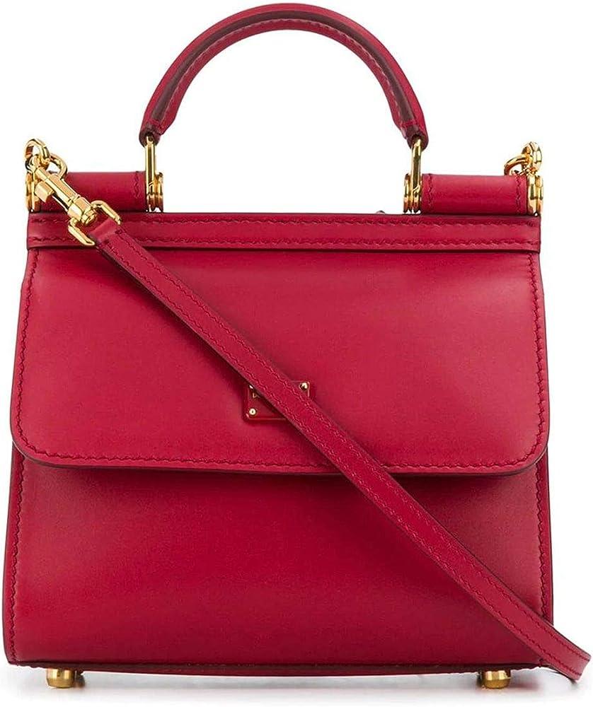 Luxury fashion dolce & gabbana, borsa per donna, a mano/tracolla, in vera pelle al 100% BB6846AV38587124