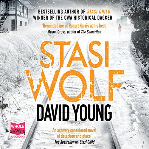 Stasi Wolf audiobook cover art
