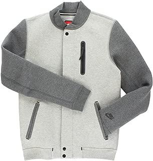 [614379-032] Nike TECH Varsity Jacket 3MM Apparel Apparel NIKEGREY