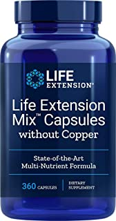 Life Extension Mix (Multi-Vitamin) Without Copper, 360 Capsules