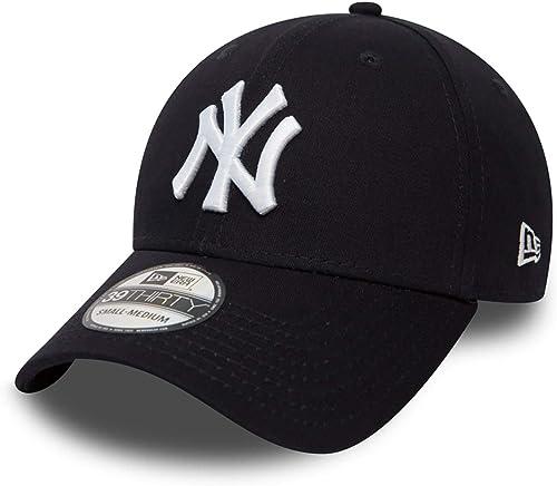 New Era Mlb Basic Ny Yankees 39Thirty Stretch Back Scarlet - Casquette de Baseball - Homme