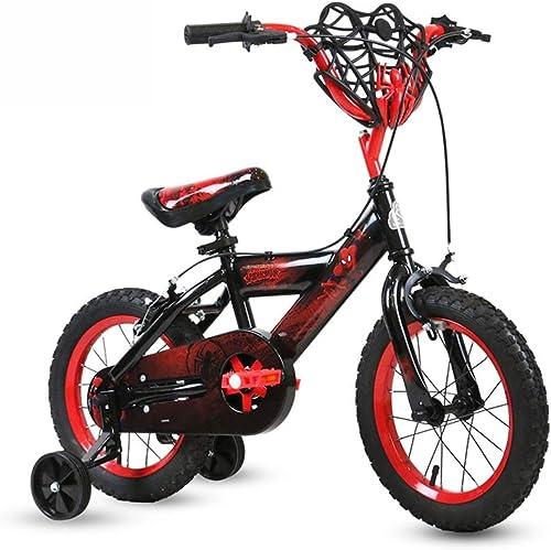 Kinder Fahrrad Spielzeugauto Outdoor Sports Student Mountainbike 12 14 16 Zoll Beste Geschenk (Farbe   schwarz, Größe   16INCH(115CM20CM59CM))