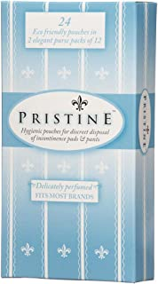 ICD Online Pristine Incontinence Disposal 24 Bags, 24 count, Pack of 24
