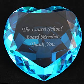 JKK SALE Personalized Custom Engraved Crystal Diamonds