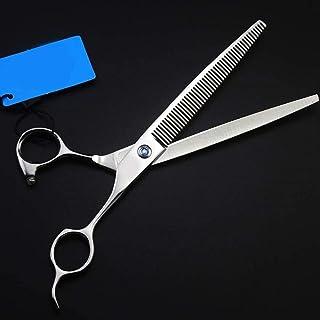 HJTLK Juego de Tijeras de peluquería, Tijeras de peluquería Profesionales y Tijeras de Adelgazamiento de peluquería para s...