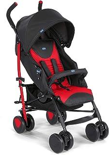 comprar comparacion Chicco Echo - Silla de paseo, ligera y compacta, soporta hasta 22kg, color rojo (Scarlet)