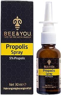 Bee&You Propolis Spray 30 ml ohne Alkohol, Propolis Extrakt, Nasal Spray, für Kinder und Erwachsene