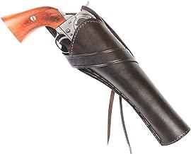 Historical Emporium Men's Long Barrel Right Hand Plain Leather Western Cross Draw Holster