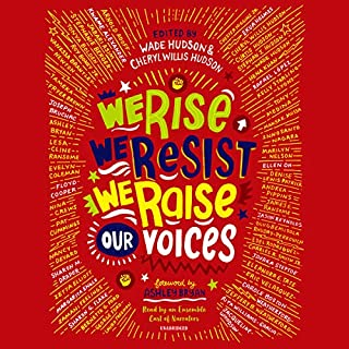 We Rise, We Resist, We Raise Our Voices audiobook cover art