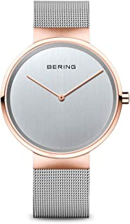 BERING Unisex Analogue Quartz Watch with Stainless Steel Strap 14539-060