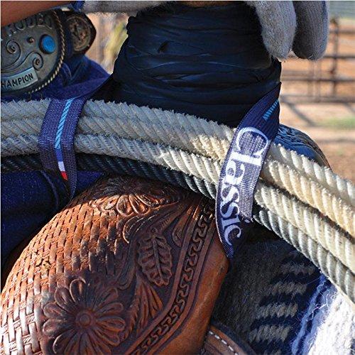 Classic Equine Elastic Lariat Rope Holder Strap (1)