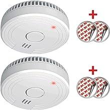 ELRO FS1805 Detector de Humo con Magnético Adhesivas Kit, Blanco, 2 Piezas, Set