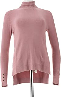 Iman Global Chic Touch Gold Signature Knit Turtleneck 624-359