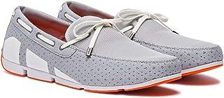 حذاء بأربطة للرجال من ماركة سوميز ، رمادي